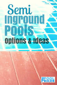 Average Cost To Build A Patio by 51 Best Semi Inground Pools Images On Pinterest Backyard Ideas
