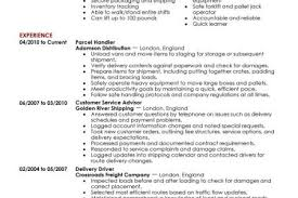 Resume Warehouse Examples by Transportation Manager Resume Examples Reentrycorps