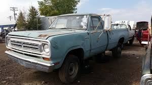 Vintage Ford Truck Junk Yards - junkyard find 1972 dodge d200 custom sweptline the truth about cars