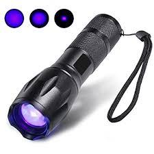 bed bug uv light escolite uv flashlight black light 1 led 395 nm ultraviolet
