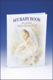 baby record book my baby book a catholic baby s record book rg10345