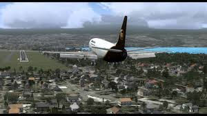 hd fsx wilco 737 300 phnl to phto full flight part2 decend ils