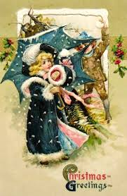 182 best vintage christmas cards images on pinterest christmas