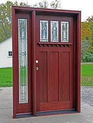 Shaker Style Exterior Doors Craftsman Doors Mission Shaker Doors