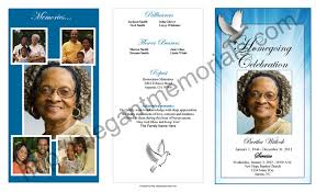program for funeral dove clipart funeral program pencil and in color dove clipart