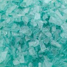 Vase Stones 100 Yellow Glass Gems Stones Mosaic Pebbles Flat Marbles