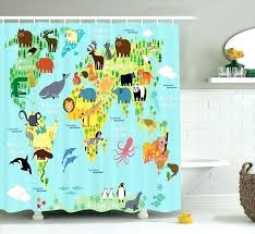 under the sea shower curtain kids shower curtains magnificent shower curtains for kids bathrooms sea life