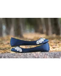 wedding shoes navy sale wedding flats navy blue bridal ballet flats wedding