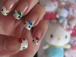 cute hello kitty nail art designs supplies u0026 stickers 2013 2014