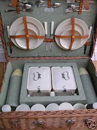 Picnic Basket Set For 4 Bandalasta Picnic Sets