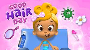 bubble guppies good hair puzzle game nick jr australia