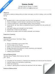 sample freelance resume makeup artist resume sample resume