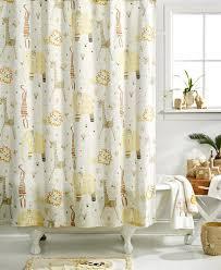 Animal Shower Curtains Creative Bath Accessories Animal Crackers Shower Curtain