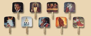 church fans personalized jesus fans church fans paper fans