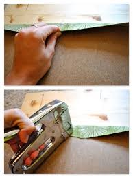 Best Staple Size For Upholstery How To Re Upholster Chairs Using A Staple Gun 11 Steps