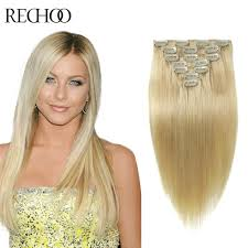 human hair clip in extensions clip in hair extensions 613