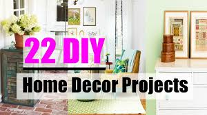 Diy Home Decorating Projects Diy 22 Diy Home Decor Projects For A Prettier Space Youtube