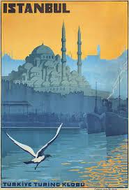turkish home decor online original vintage 1920s istanbul travel poster turkey vintage