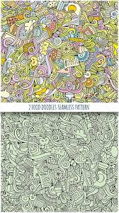 seamless pattern food 2 food doodles seamless pattern doodles hand drawn and patterns