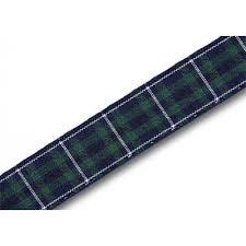 modern douglas 16mm scottish tartan plaid ribbon x 25m reel