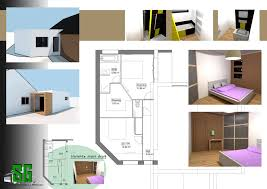 extension chambre esquisse archives sg plans
