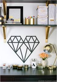 Washi Tape Wall by Cheap And Easy Ways To Spruce Up Your Space With Washi Tape