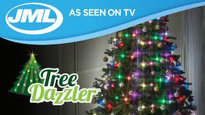 led christmas tree tree dazzler easy led christmas tree lights from jml