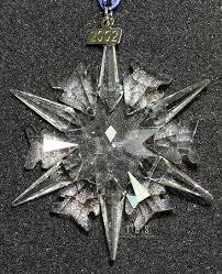 2002 swarovski ornament