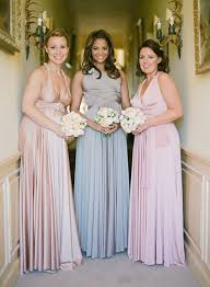 light grey infinity dress of 3 pink grey chagne bridesmaid dress long infinity dress