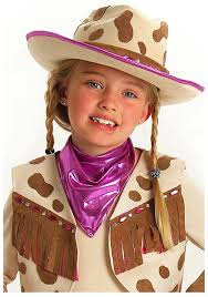 cowgirl halloween costume kids young rhinestone cowgirl hat western accessories
