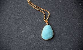 turquoise stone pendant necklace images How to easily clean your turquoise jewelry jpg