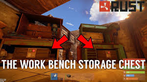 The Work Bench Rust The Work Bench Storage Chest Youtube