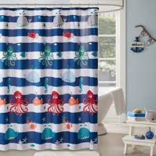 Navy Blue And White Curtains Buy Navy White Curtains From Bed Bath Beyond