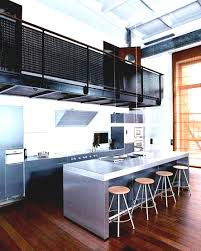 Industrial Kitchen Cabinets Amazing Rustic Industrial Kitchen Featuring White Kitchen Cabinets