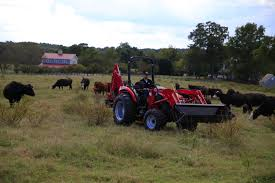 tx5000 compact utility tractor front end loader attachment