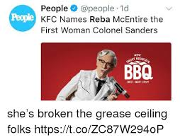 Colonel Sanders Memes - people 1d kfc names reba mcentire the first woman colonel sanders