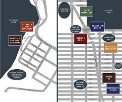 national harbor map fireman hospitality locations