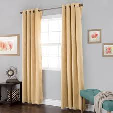 Home Classics Blackout Curtain Panel by Cotton Curtains U0026 Drapes Window Treatments The Home Depot
