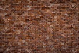 background of decorative brick wall texture in horizontal view