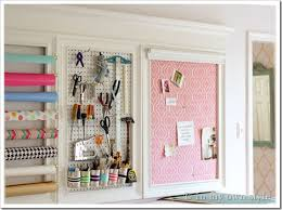 Decorative Wall Frame Moulding How To Add A Crown Molding To A Craft Room Creative Wall 5 In