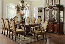 furniture of america napa valley 9 pc dark cherry dining table and