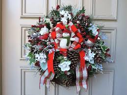 commercial outdoor decorations wreath contemporary