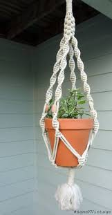 Simple Macrame Plant Hanger - crafted macrame plant hanger 35 turquoise macrame plant