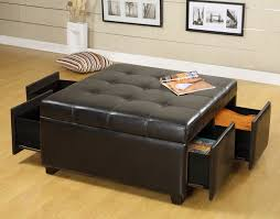 square leather coffee table the most modern leather coffee table re with glass within storage
