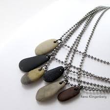 make necklace with stone images Make beach stone necklaces gift idea for guys and gals jewelry jpg