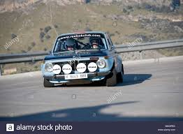 Blue 1969 Bmw 2002 Classic Sports Car Racing In The Classic Car
