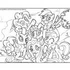my little pony coloring pages coloring kids