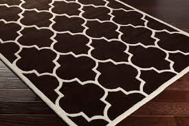 Brown And White Area Rug Artistic Weavers Transit Piper Awhe2014 Brown White Area Rug