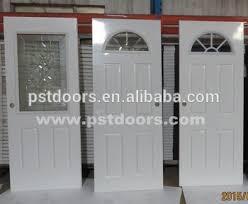 Door Styles Exterior Galvanized Steel Door With 4 Panel Exterior Door Styles Used