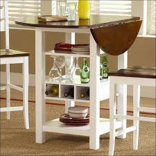 Kitchen  Counter High Table Dining Room Table With Leaf Counter - Dining room sets round